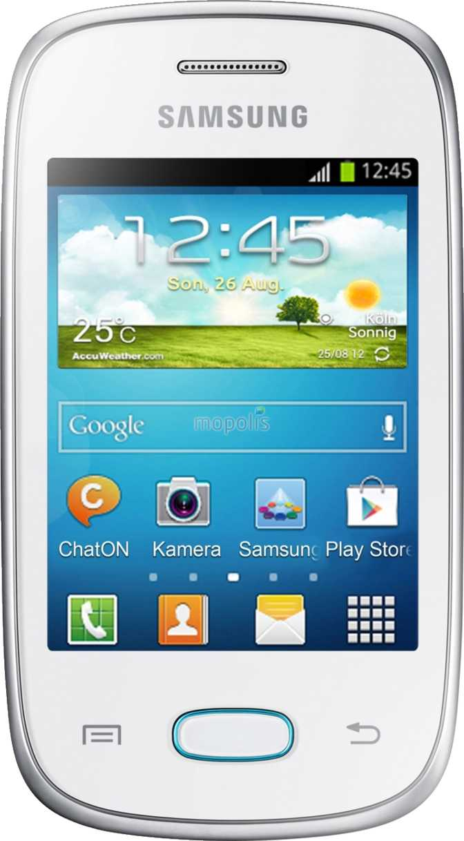 Huawei Ascend P6 vs Samsung Galaxy Pocket Neo S5310