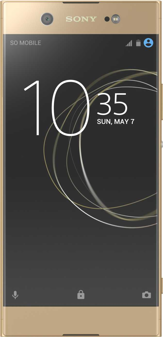 LG X screen vs Sony Xperia XA1 Ultra