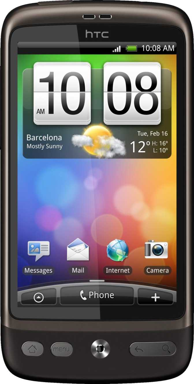 HTC Sensation vs HTC Desire