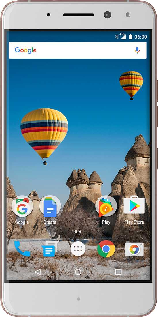 LG K10 (2017) vs General Mobile GM 5 Plus