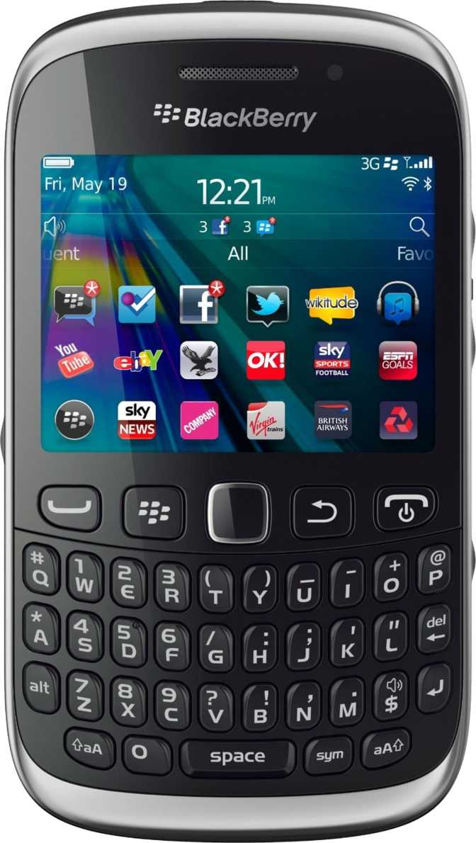 Nokia E6 vs RIM BlackBerry Curve 9320