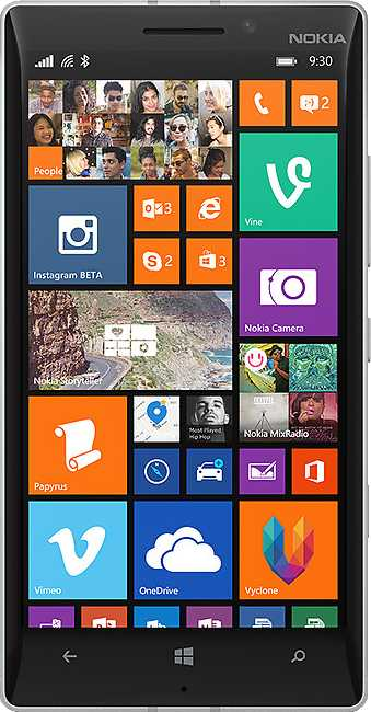 Nokia Lumia 930 vs LG Optimus Black P970