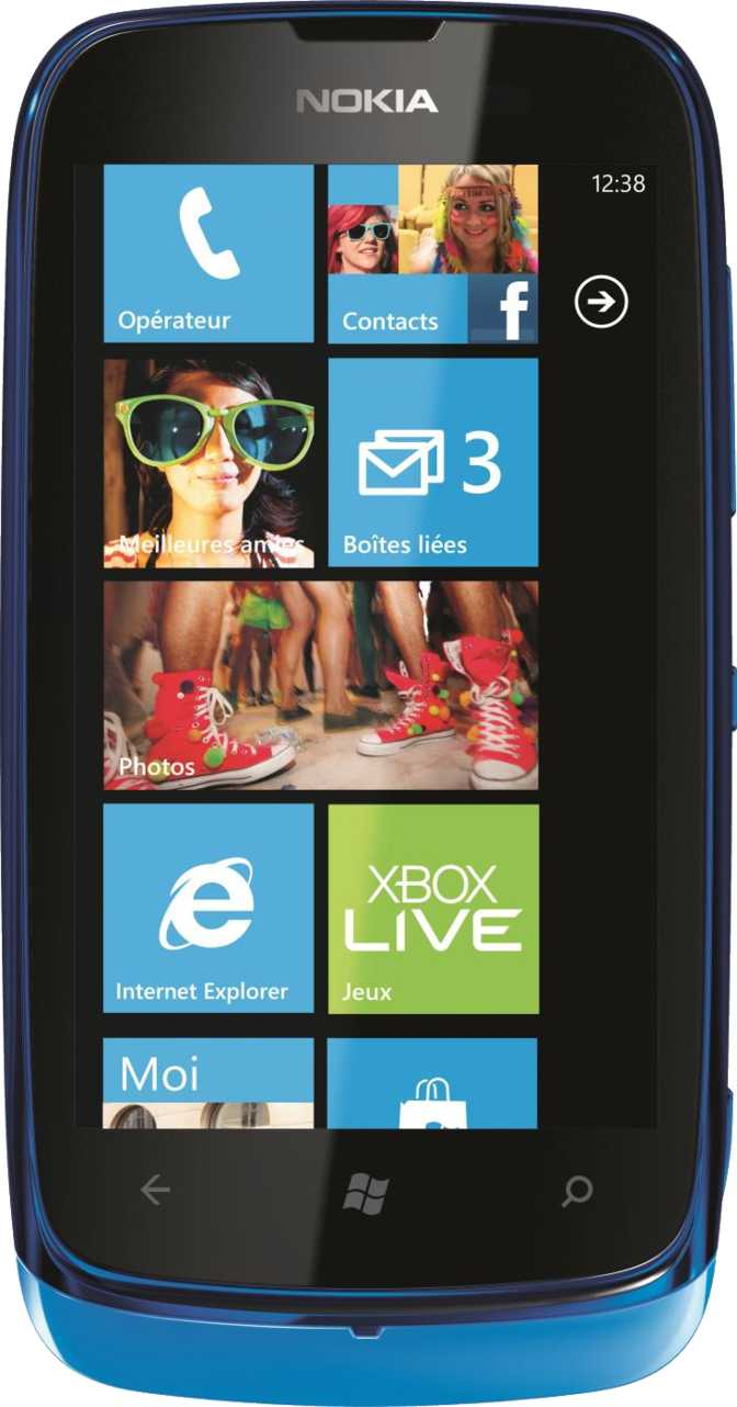 Nokia Lumia 610 vs Samsung Galaxy S20 Ultra