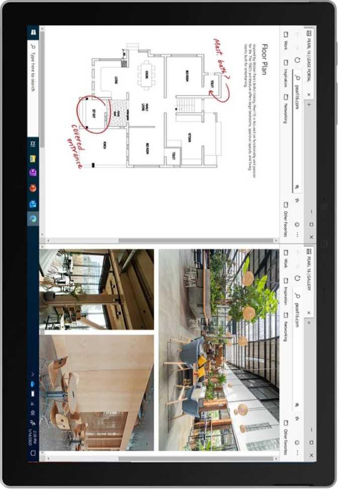 "Microsoft Surface Pro 7 Plus 12.3"" Intel Core i3-1115G4 3GHz / 8GB RAM / 128GB SSD"