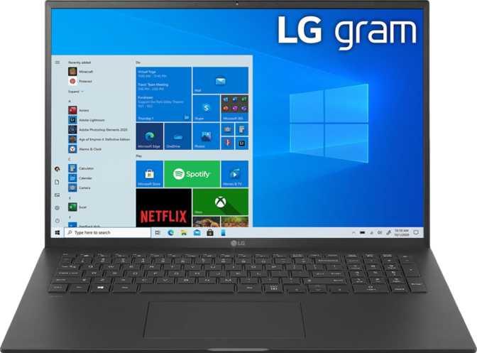 LG Gram 17 (17Z90P) Intel Core i7-1165G7 2.8GHz / 16GB RAM / 512GB SSD