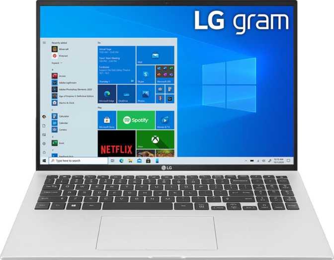 LG Gram 16 (16Z90P) Intel Core i7-1165G7 2.8GHz / 16GB RAM / 1TB SSD
