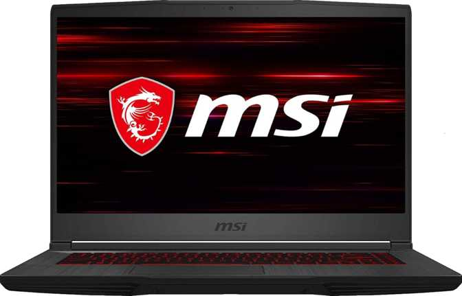 "MSI GF65 Thin 15.6"" Intel Core i5-9300H 2.4GHz / 8GB RAM / 256GB SSD"
