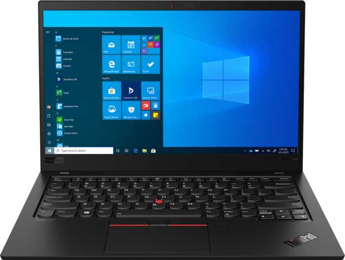 "Lenovo ThinkPad X1 Carbon (8th Gen) 14"" Intel Core i5-10210U 1.6GHz / 8GB RAM / 256GB SSD"