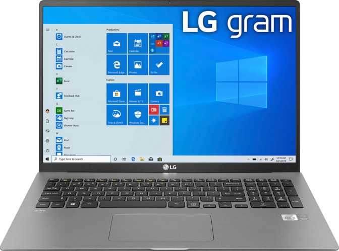 "LG Gram 17"" Intel Core i7-1065G7 1.3GHz / 16GB RAM / 1TB SSD"