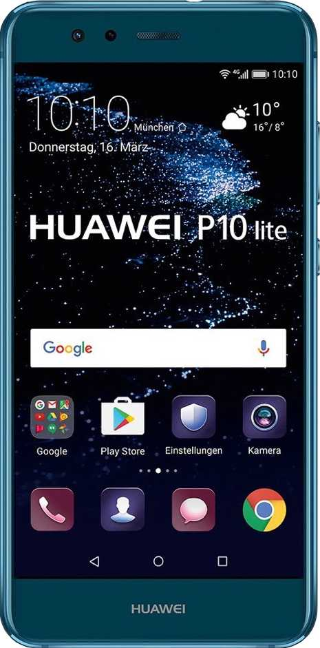 General Mobile GM 8 vs Huawei P10 Lite