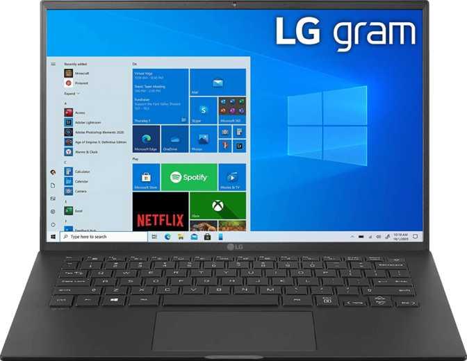 LG Gram 14 (14T90P) Intel Core i7-1165G7 2.8GHz / 16GB RAM / 1TB SSD