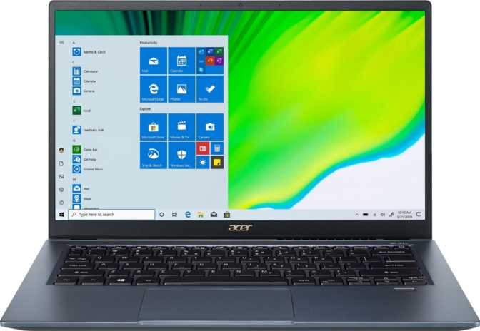 "Acer Swift 3X 14"" Intel Core i7-1165G7 2.8GHz / 16GB RAM / 1TB SSD"