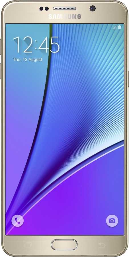 Samsung Galaxy Note 5 vs LG G6