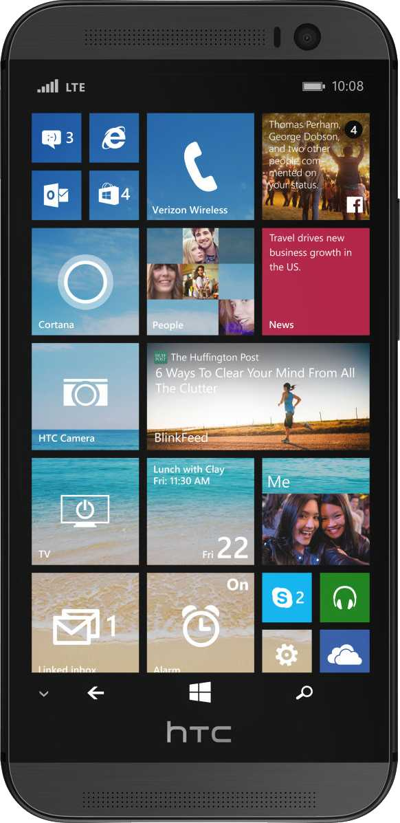 LG G4 vs HTC One (M8) for Windows