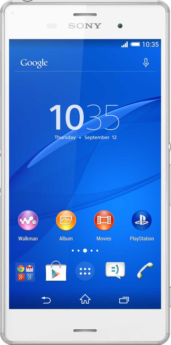 Acer Liquid Z4 vs Sony Xperia Z3