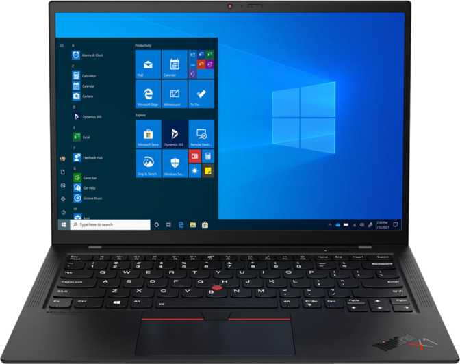 "Lenovo ThinkPad X1 Carbon Gen 9 14"" Intel Core i5-1145G7 2.6GHz / 16GB RAM / 512GB SSD"