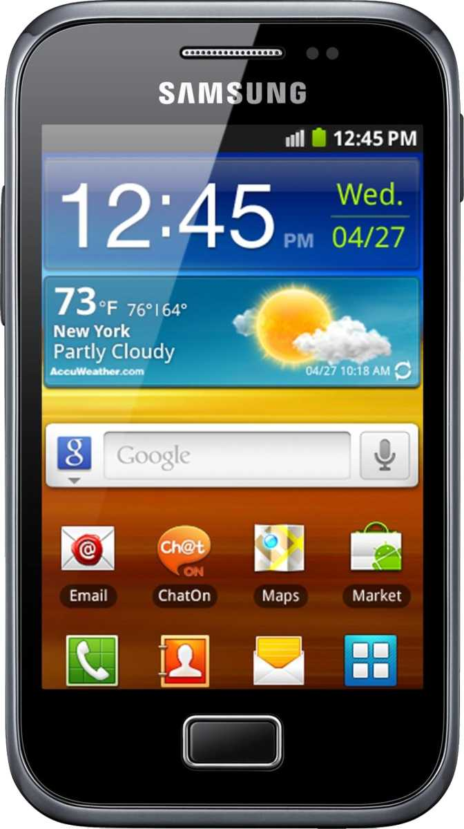 HTC Sensation vs Samsung Galaxy Ace Plus S7500