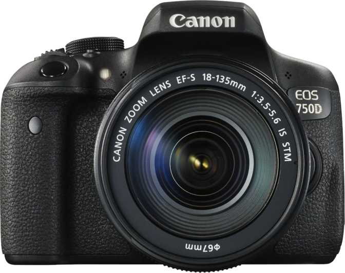 Canon EOS 600D + Canon EF-S 18-135mm f/3.5-5.6 IS vs Canon EOS 750D + Canon EF-S 18-55mm F/3.5-5.6 IS STM