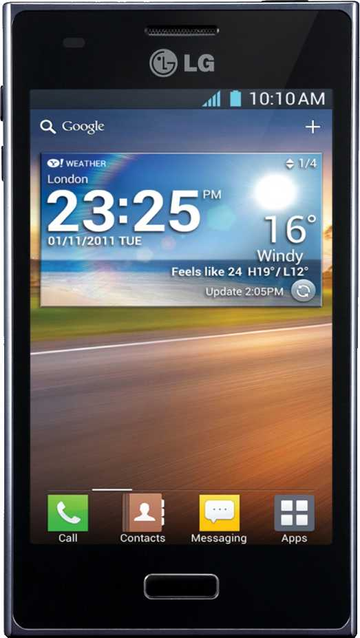 Huawei Ascend P1 S vs LG Optimus L5 E610