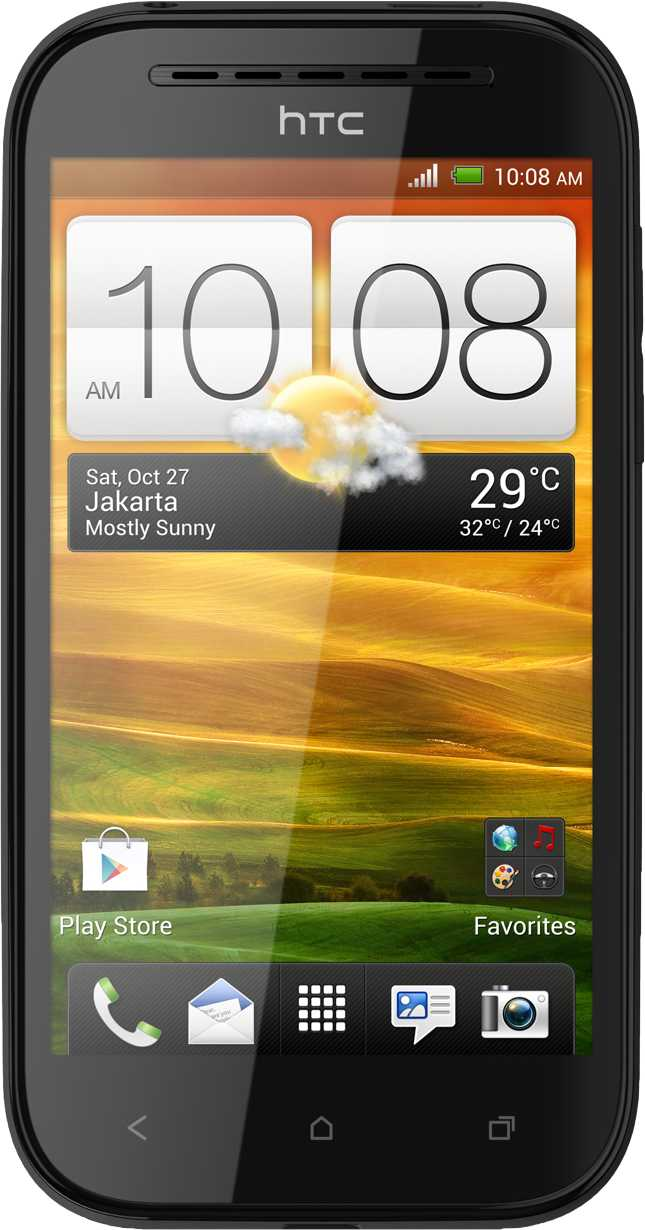 Huawei Ascend W1 vs HTC Desire SV