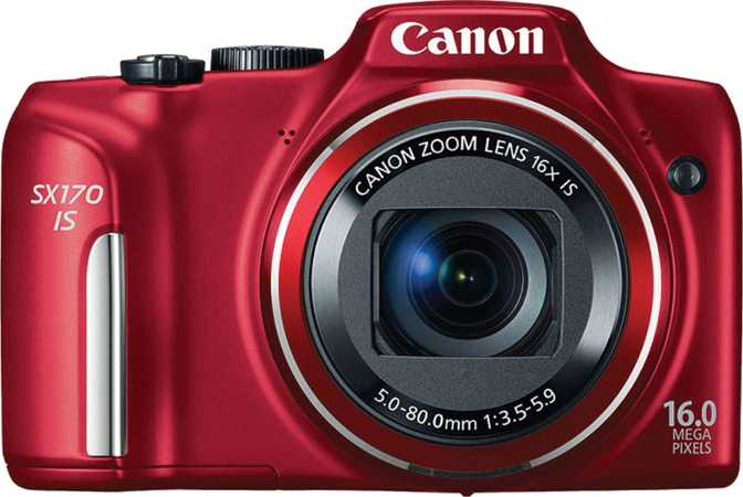 Canon EOS 600D vs Canon PowerShot SX170 IS