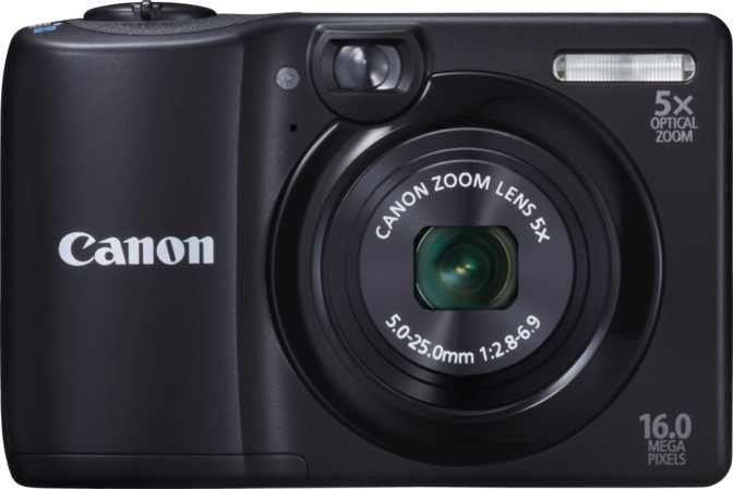 Panasonic Lumix DMC-G5 vs Canon PowerShot A1300