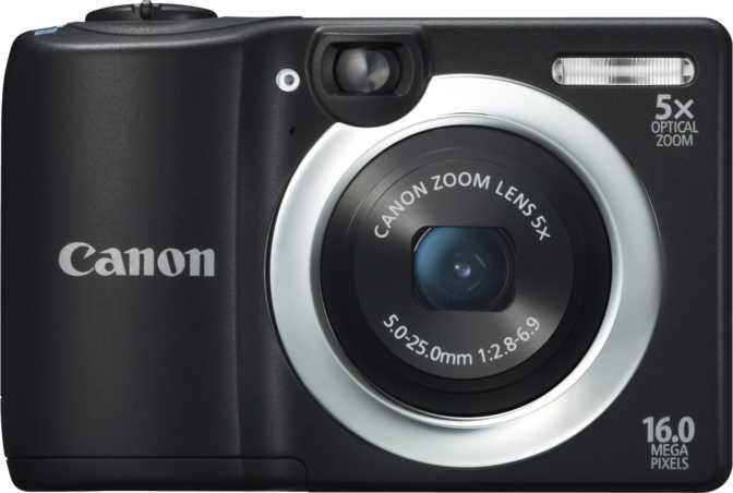 Apple iPhone 5 vs Canon PowerShot A1400