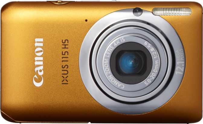 Canon IXUS 165 vs Canon IXUS 115 HS