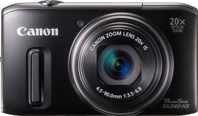 Canon PowerShot SX240 HS vs Panasonic Lumix DMC-LZ20