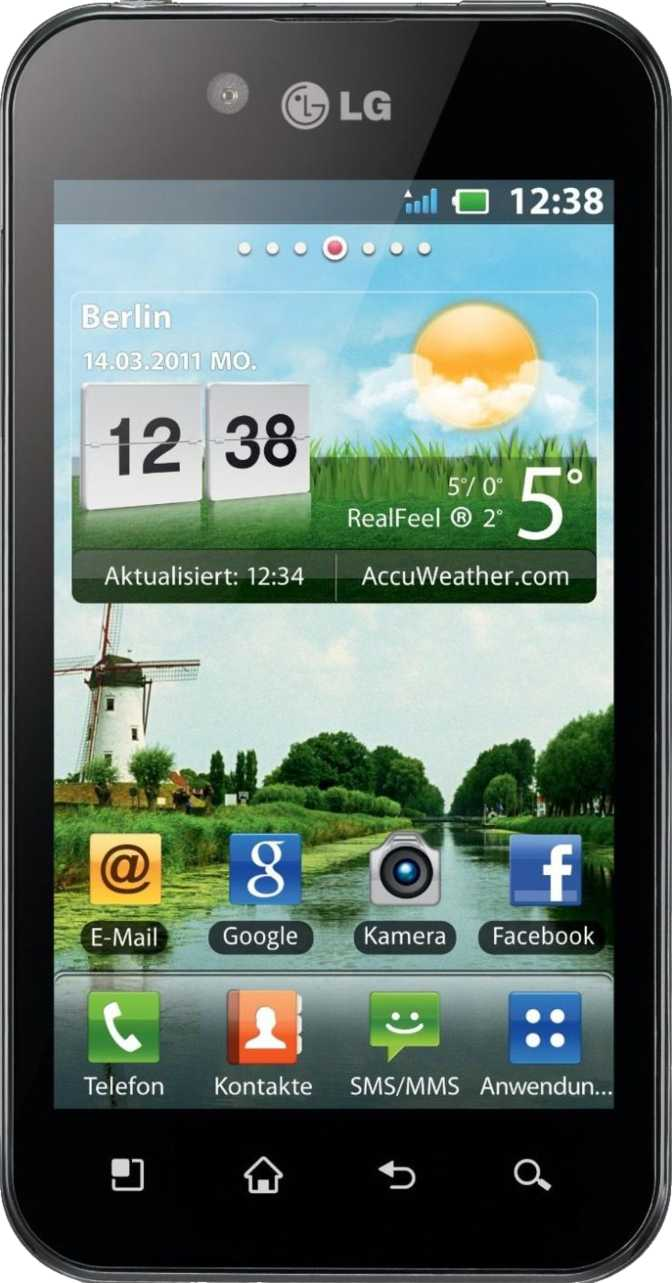 HTC ChaCha vs LG Optimus Black P970
