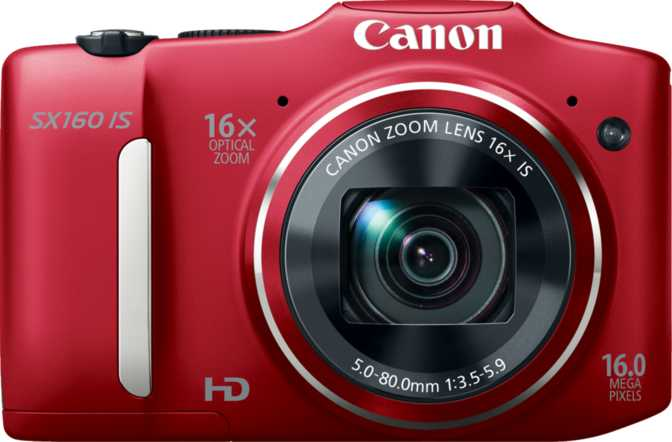 Canon Ixus 265 HS vs Canon PowerShot SX160 IS