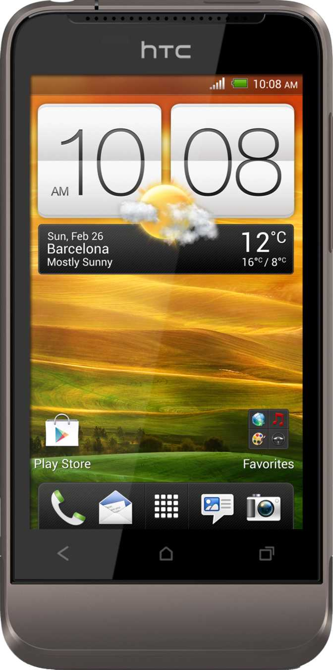 HTC One V vs Sony Xperia P