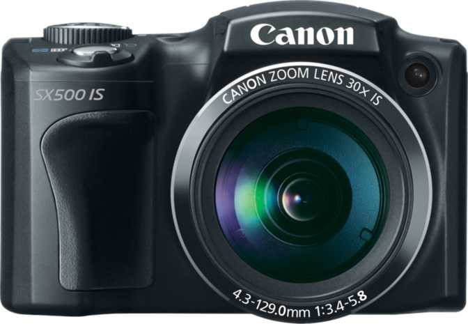 Nikon D90 vs Canon PowerShot SX500 IS