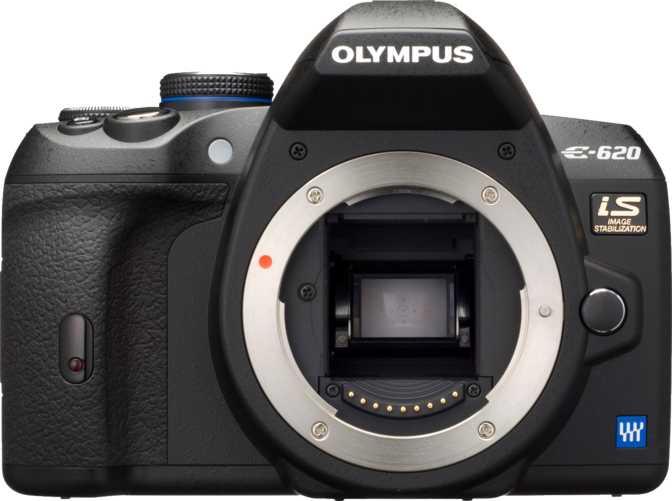 Canon EOS 1000D + Canon EF-S 18-55mm f/3.5-5.6 IS II vs Olympus E-620