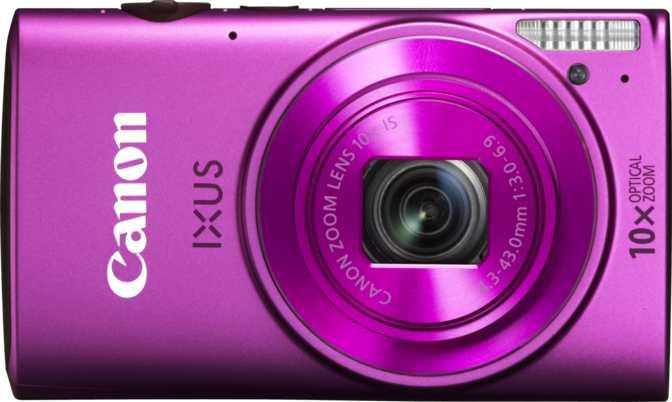 Fujifilm FinePix JV200 vs Canon IXUS 255 HS