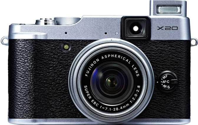 Fujifilm X-A7 vs Fujifilm X20