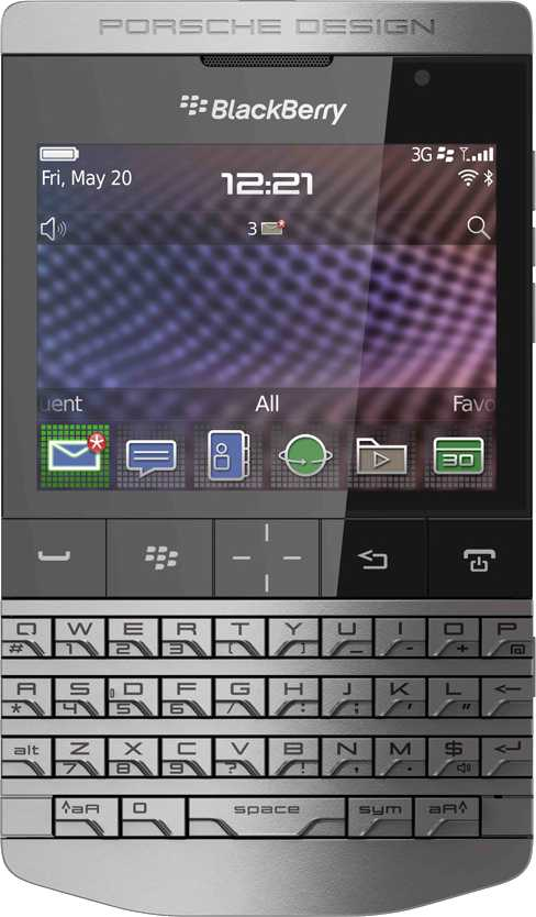 BlackBerry Q10 vs RIM BlackBerry Porsche Design P9981