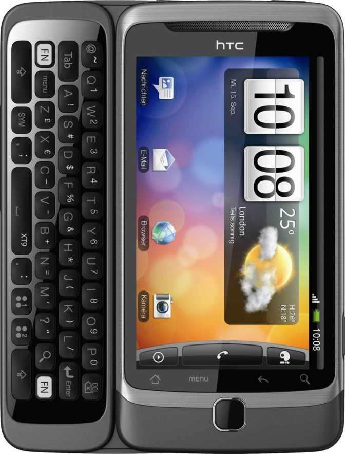 HTC Wildfire S vs HTC Desire Z