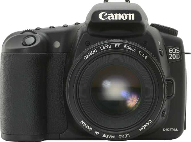 Canon EOS 20D vs Panasonic Lumix DMC-LZ20