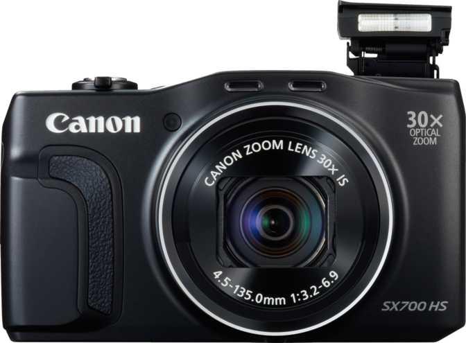 Canon PowerShot SX710 HS vs Canon PowerShot SX700