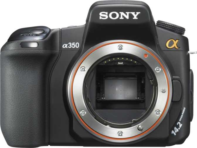 Sony SLT - A37 vs Sony A350 DSLR
