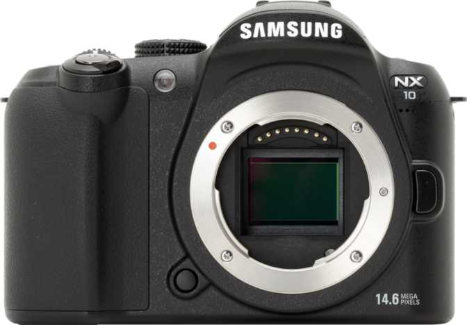 Sony A550 DSLR vs Samsung NX10