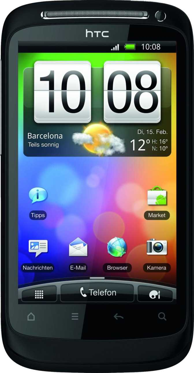 HTC Desire S vs Huawei Ascend D1