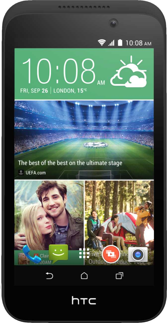 LG Gentle vs HTC Desire 320