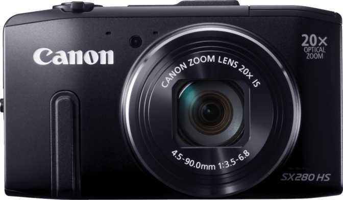 Canon PowerShot SX740 HS vs Canon PowerShot SX280 HS