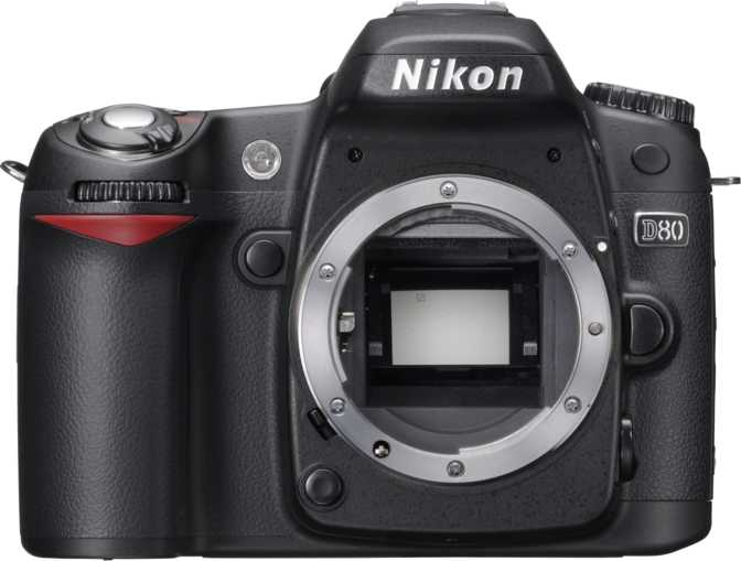 Sony A230 DSLR vs Nikon D80