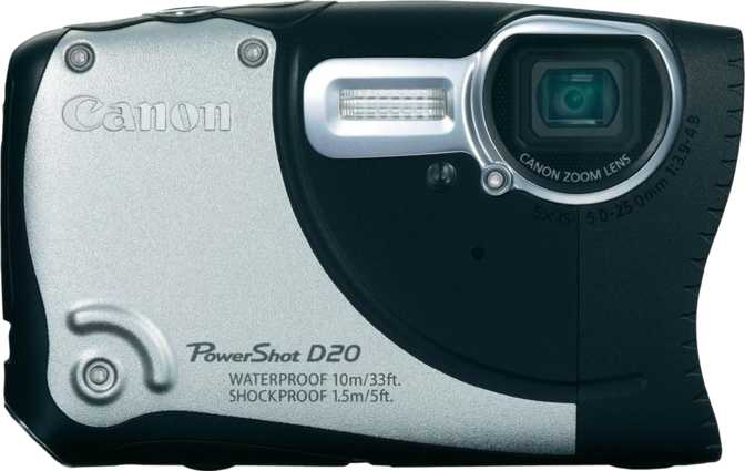 Panasonic Lumix DMC-FZ60 vs Canon PowerShot D20