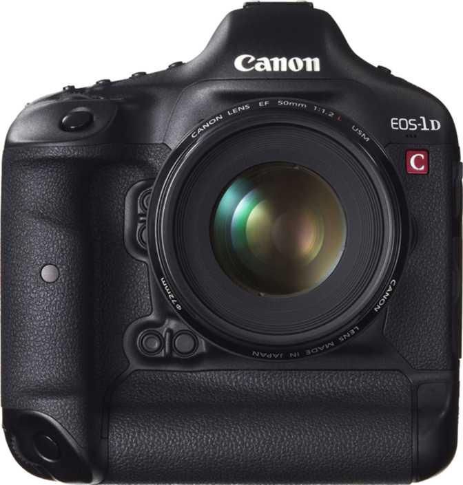 Sony SLT - A77 vs Canon EOS-1D C