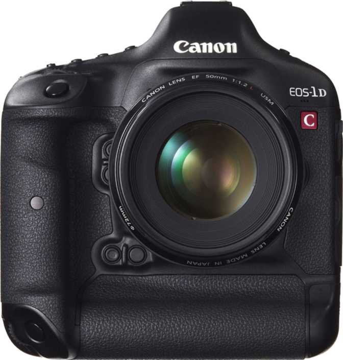 Nikon D5100 vs Canon EOS-1D C