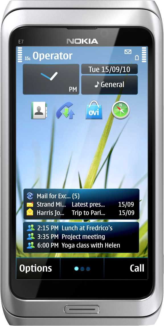 HTC Desire vs Nokia E7